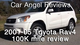 Download 2001-2005 Toyota Rav4 extended 100k mile car review Video