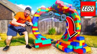 Download BUILDING A LEGO RC CAR LOOP! *INSANE* Video