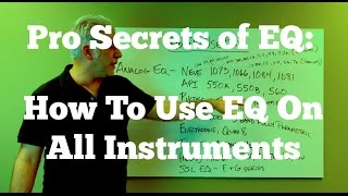 Download How The Pros Use EQ - How To EQ All Instruments and Your Mixes Video