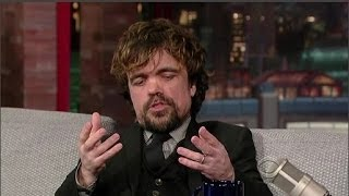 Download Peter Dinklage Interview - Late Night With David Letterman - 26th March, 2014 Video