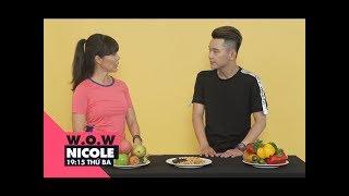 Download Ăn gì trước và sau khi tập gym để đạt hiệu quả cao nhất?   W.O.W Nicole   VIEW TV-VTC8 Video