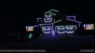 Download Halloween Light Show 2015 - Monster Mash (Bobby Pickett) Video