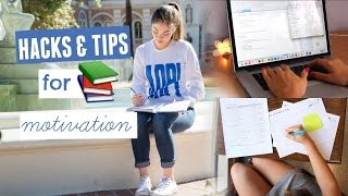 Download Life Hacks + Tips for School: How to Motivate Yourself to Study Video
