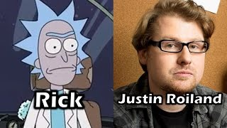 Download Characters and Voice Actors - Rick & Morty Video