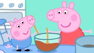Download Peppa Pig en Español - ¡Peppa Hace un Pastel! - Dibujos Animados Video