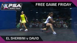 Download Squash: Free Game Friday - El Sherbini v David - Women's World Championship Video