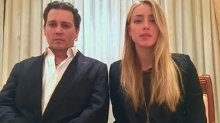 Download Johnny Depp and Amber Heard release bizarre apology video Video