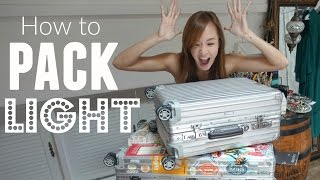 Download How To Pack Light for Travel | Jade Travels Video