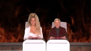 Download Khloe Kardashian Answers Ellen's Burning Questions Video