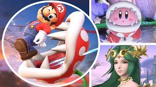 Download Piranha Plant All Victory Poses, Final Smash, Kirby Hat & Palutena Guidance in Smash Bros Ultimate Video