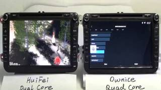 Download Ownice C200 Quad Core Android 4 4 2 Car DVD Comparision with Dual Core DVD Video