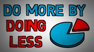 Download The Pareto Principle - 80/20 Rule - Do More by Doing Less (animated) Video