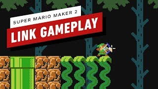 Download Super Mario Maker 2: Exploring a Zelda-Style Dungeon As Link - Gameplay Video
