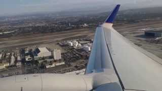 Download United Airlines Boeing 737-924 ER Los Angeles to New Orleans Takeoff Video
