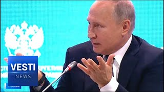 Download Putin Talks Energy - Figure it Out on Your Own! Don't Drag Us Into Your Internal Pricing Schemes! Video