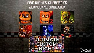 Five Nights at Freddy's 4 All NEW Jumpscares Free Download