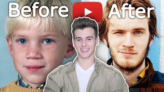 Download YouTubers Before And After 2016 (Plus Picture Of Me As A Kid) Video