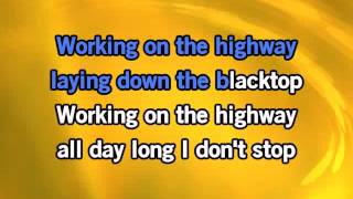 Download Bruce Springsteen Working On The Highway Karaoke Video