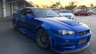 Download RAREST Skyline R34 GTR's in the World?! 6K Miles on the Clock! Video