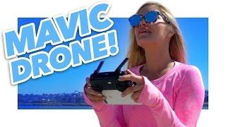 Download DJI Mavic Test Footage   iJustine Video