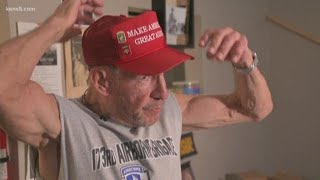 Download Vietnam vet targeted on bus for wearing MAGA hat Video