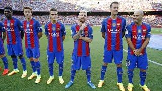 Download La presentación de la plantilla del FC Barcelona 2016/17 Video