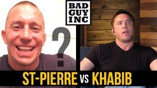 Download Will Georges St-Pierre fight Khabib Nurmagomedov? Video