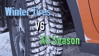 Download Winter tires VS All Season Tires. Proof that you need WINTER TIRES!! Video