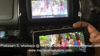 Renault Clio iv 4 with mediaskin Video player Medianav Free Download