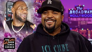 Download Is Ice Cube Responsible for LeBron in LA?? Video