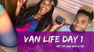 Download Off The Grid With a Kid: Van life tour in the U.S.A Day 1 Video