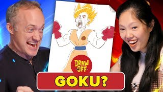 Download Animator Vs. Cartoonist Draw Dragon Ball Z Characters From Memory (ft. Ross Draws) • Draw Off Video