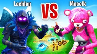Download Lachlan VS Muselk Rock Paper Scissors CHALLENGE In Fortnite Battle Royale Video