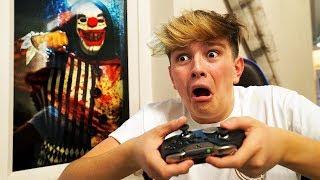 Download Creepy Clown breaks into house, as Kid wins on Fortnite... Video