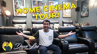 Download Tour of My Home Theatre / Cinema Room! Video