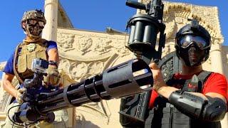 Download Team Fortress 2 Airsoft Minigun - Capture The Flag Video