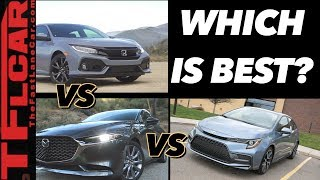 Download I Drove The Corolla, Mazda3 and Civic To See Which Car Is Better - And The Winner Is Clear! Video