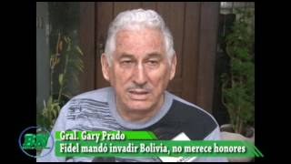 Download Gral, Gary Prado asegura que Castro no merece rendirle honores, mandó invadir Bolivia Video