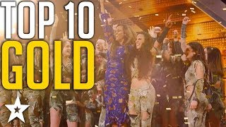 Download Top 10 Unforgettable Golden Buzzers on America's Got Talent | Got Talent Global Video