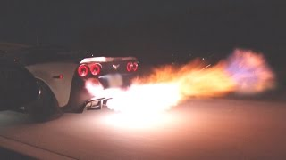 Download FLAMING Corvette From HELL! Video