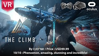 Download The Climb Oculus Rift Full HD 1080p 60fps. Phenomenon, amazing, stunning and incredible. Video