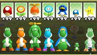 Download New Super Mario Bros. Wii - All Yoshi Power-Ups Video