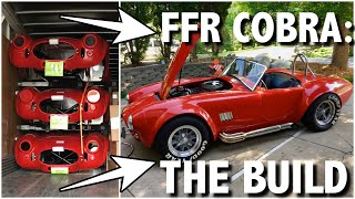 Download Factory Five Cobra Part 1: Kit delivery to license in 7 minutes Video
