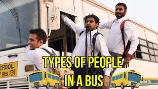 Download Types Of People in a Bus - Amit Bhadana Video