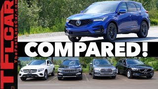 Download Compared! 2019 Acura RDX vs Audi Q5 vs BMW X3 vs Volvo XC60 vs Mercedes-Benz GLC Video