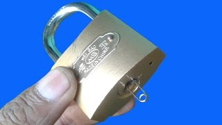 Download 3 Ways Open a Lock with Safety Pin Video