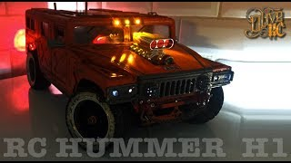 Download RC HUMMER H1 - Homemade ABS body Video