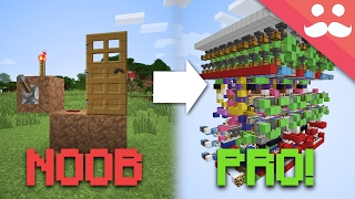 Download How to go From NOOB to PRO at Minecraft Redstone! Video