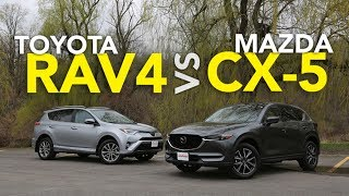 Download 2017 Toyota RAV4 vs 2017 Mazda CX-5 Comparison Video