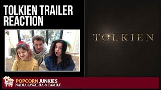 Download TOLKIEN | Official Trailer | Nadia Sawalha & The Popcorn Junkies Family Reaction Video